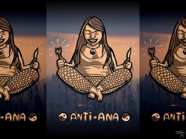 Anti Ana // 80 x 120 cm // poster // 2009 // 6237 views