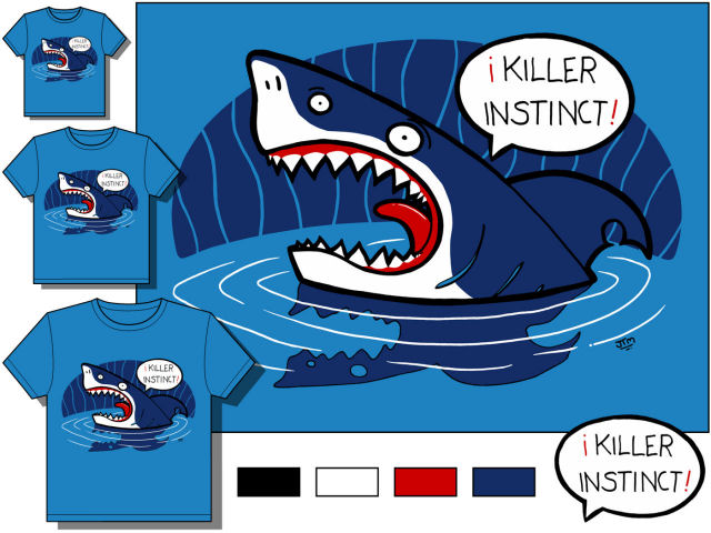 Killer instinct // - // t-shirt design // 2006 // 8665 views
