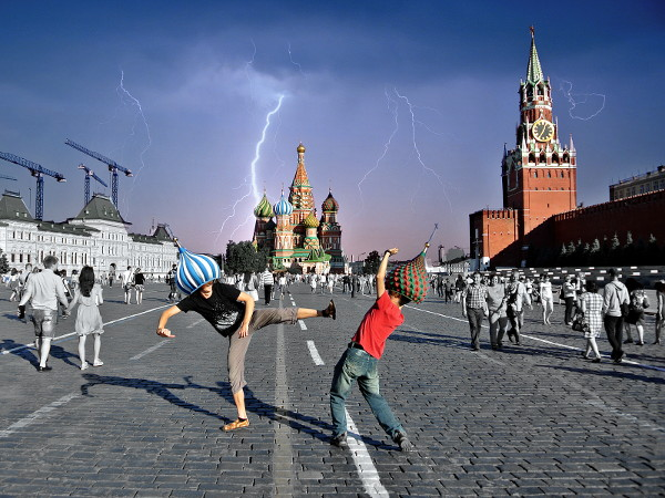 Red square run // 3:2 // video // 2014 // 61187 views