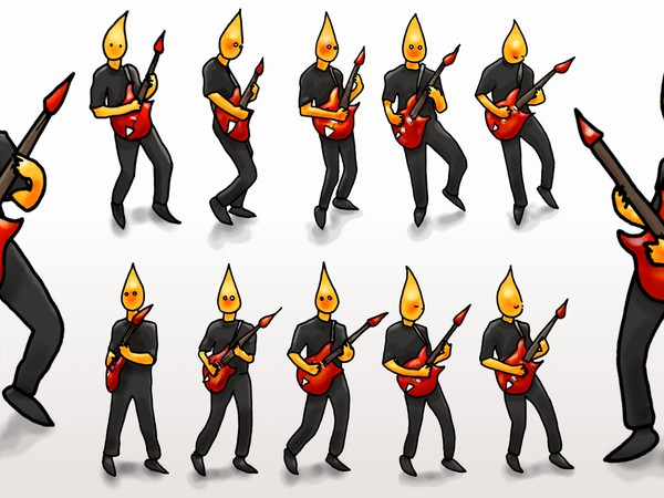 Fireman // 12x // animation cells // 2014 // 4764 views
